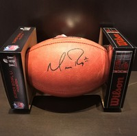 PCF -  Matt Ryan  Signed Authentic Super Bowl LI Football