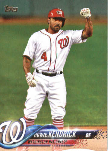 Photo of 2018 Topps #83 Howie Kendrick