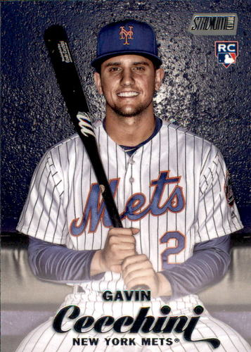 Photo of 2017 Stadium Club #228 Gavin Cecchini Rookie Card