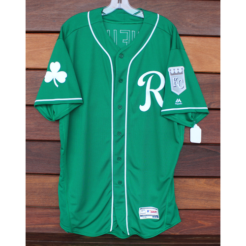 Photo of Team-Issued St. Patrick's Day Jersey: Dale Sveum (Size - 48)