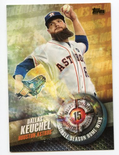 Photo of 2016 Topps Record Setters #RS7 Dallas Keuchel