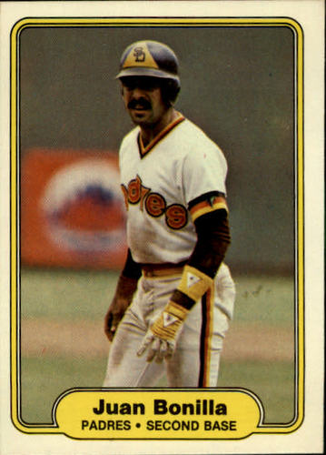 Photo of 1982 Fleer #567 Juan Bonilla RC