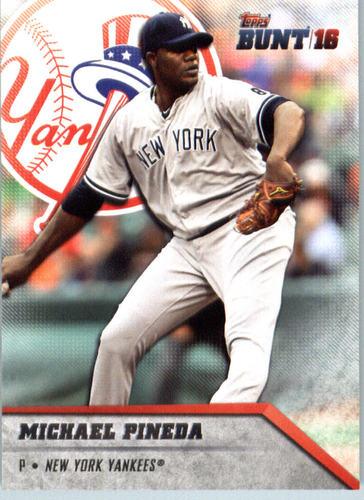 Photo of 2016 Topps Bunt #164 Michael Pineda