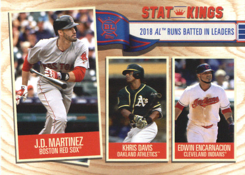 Photo of 2019 Topps Big League #353 Edwin Encarnacion/Khris Davis/J.D. Martinez