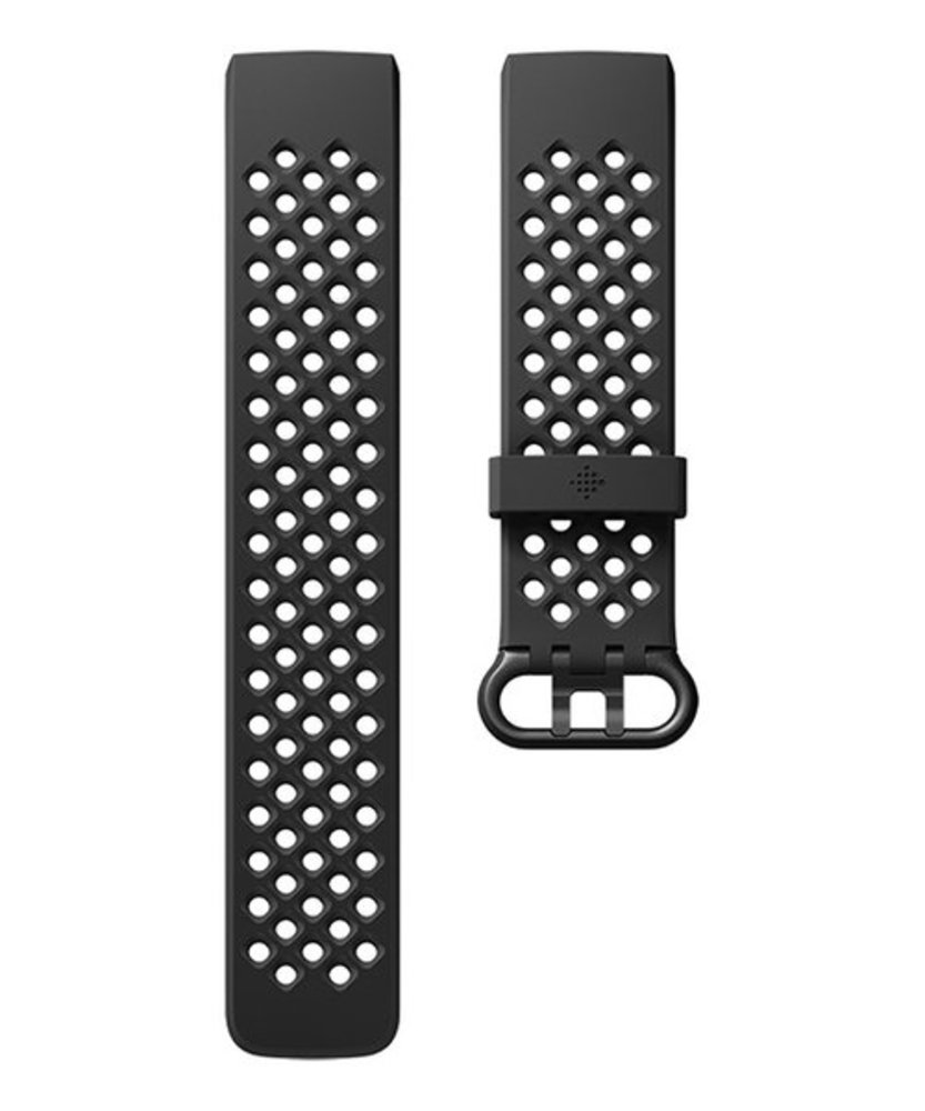 Photo of Fitbit Charge 3 Accessory Sport Band - Large (Black)