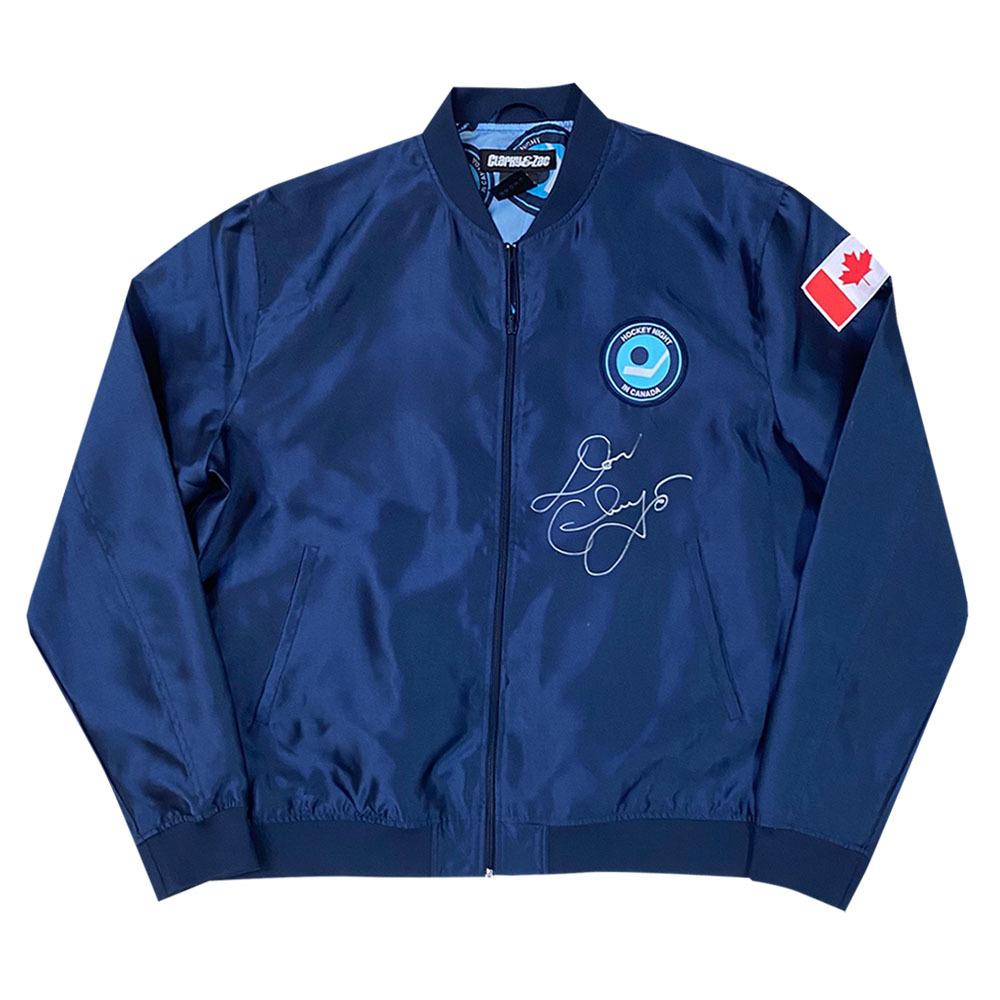 Don Cherry Autographed Hockey Night and Canada Bomber Jacket