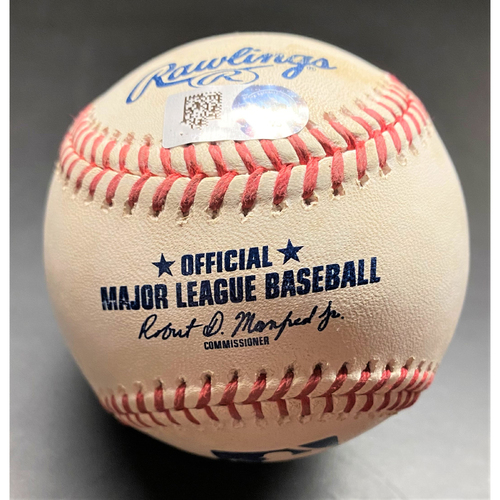 Photo of 2021 Opening Day Game-Used Baseball:  Willi Castro Detroit Tigers Single  (MLB AUTHENTICATED)