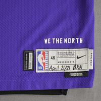 Chris Boucher - Toronto Raptors - Game-Worn Earned Edition Jersey - 2020-21 NBA Season
