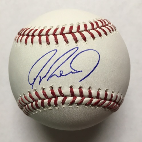 Photo of Jayson Werth Autographed Baseball