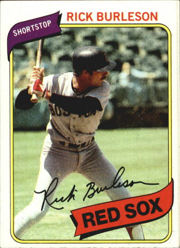 Photo of 1980 Topps #645 Rick Burleson