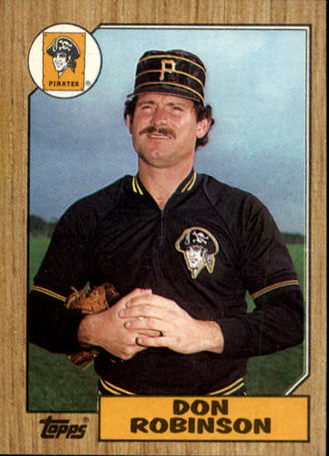 Photo of 1987 Topps #712 Don Robinson