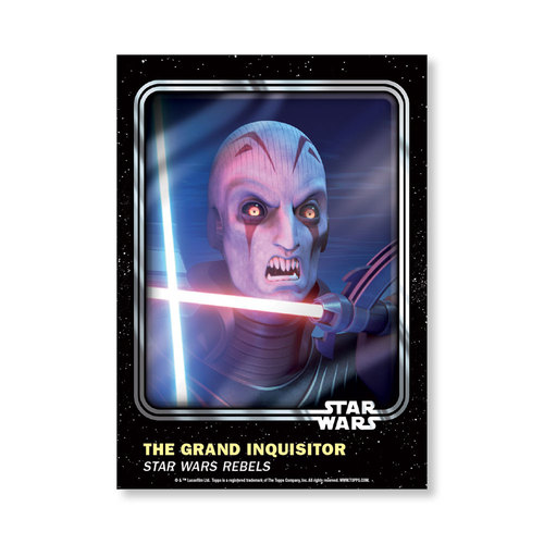 The Grand Inquisitor 2016 Star Wars Card Trader Base Poster - # to 99