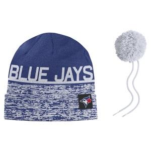 f680c82bb Blue Jays Shop | Toronto Blue Jays Local DNA Beanie Removable Pom ...