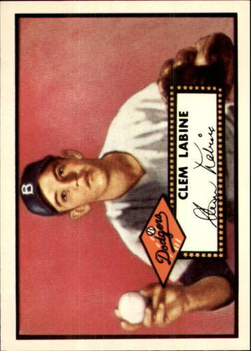 Photo of 1983 Topps 1952 Reprint #342 Clem Labine