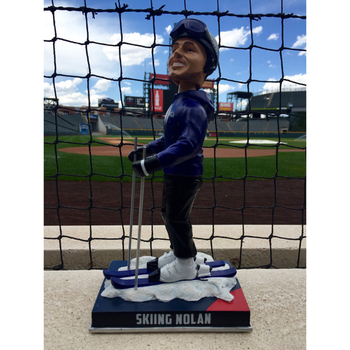 Photo of Nolan Arenado Colorado Life Style Bobblehead - Skiing
