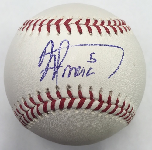 Albert Almora Jr. Autographed Baseball