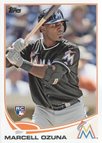 Photo of 2013 Topps Update #US279 Marcell Ozuna Rookie Card