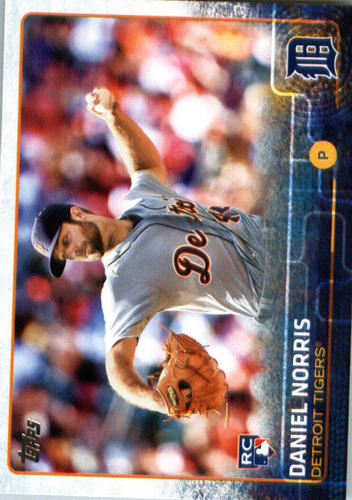 Photo of 2015 Topps Update #US53 Daniel Norris RC