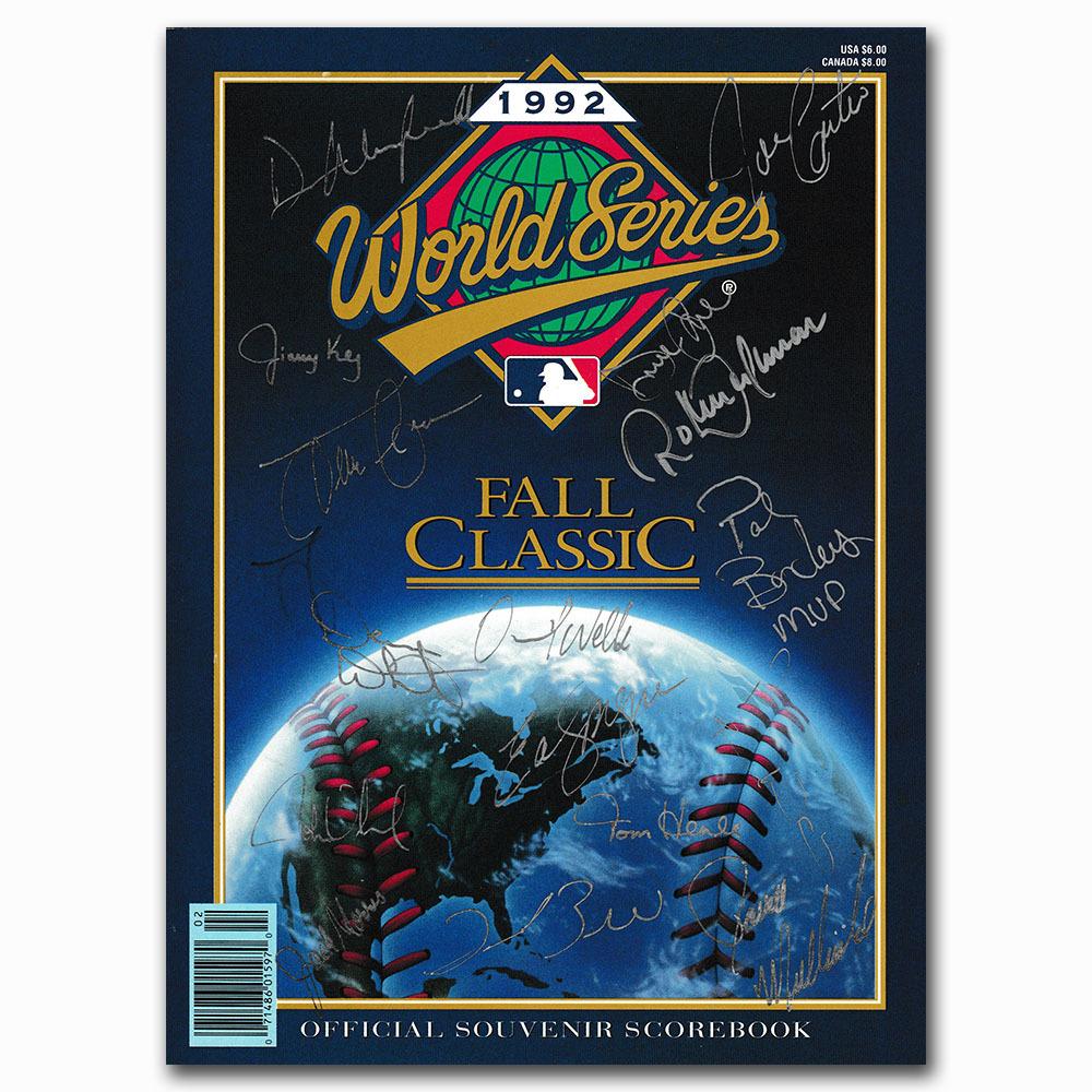 Toronto Blue Jays Team-Signed 1992 World Series Official Program