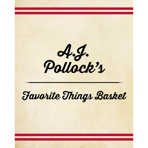 Photo of A.J. Pollock's Favorite Things Basket
