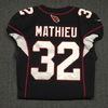 Crucial Catch - Cardinals Tyrann Mathieu game worn Cardinals jersey (October 15, 2017) Size 40