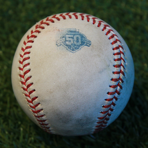 Photo of Game-Used Baseball: Sean Gilmartin Pitched Strike Out to Brett Phillips (BAL @ KC - 9/2/18)