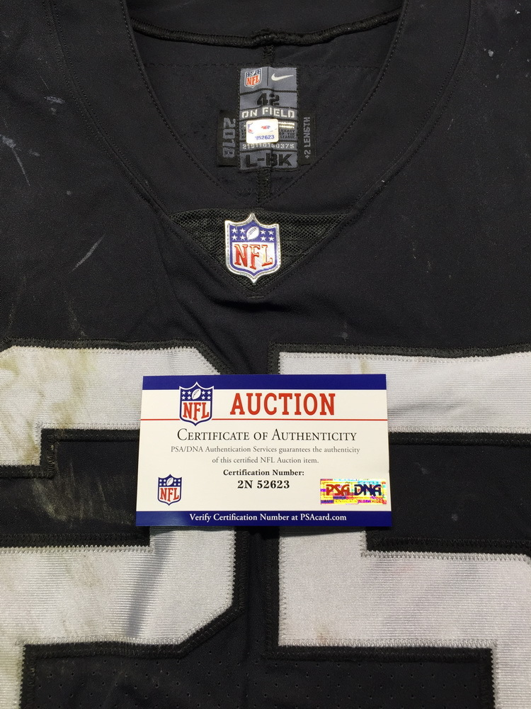 check out 8d271 0e9e5 NFL Auction | NFL - London Games Raiders Erik Harris Game ...