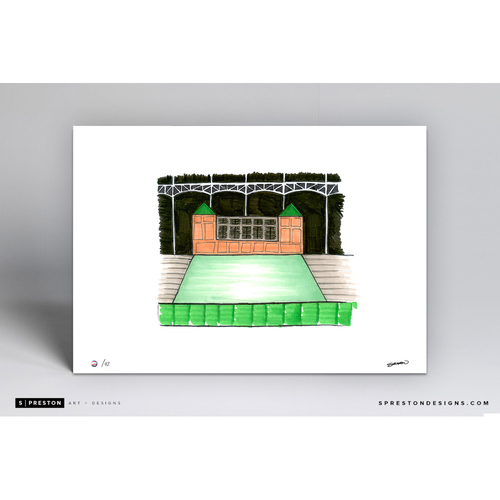 Photo of Globe Life Park Sketch - Limited Edition Print 2/42 by S. Preston
