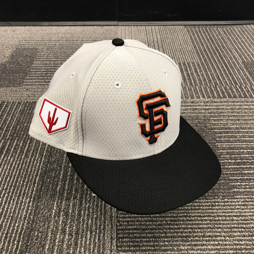 Photo of 2019 Team Issued Gray Spring Training Cap - #13 Will Smith - Size 7 3/4