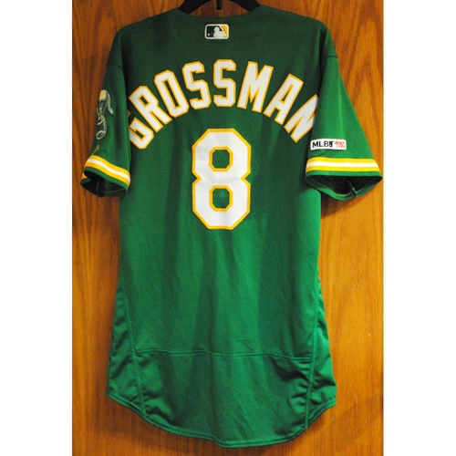 Photo of Robbie Grossman 2019 Game-Used Jersey (HR #4)
