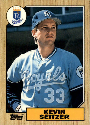 Photo of 1987 Topps Traded #111T Kevin Seitzer XRC
