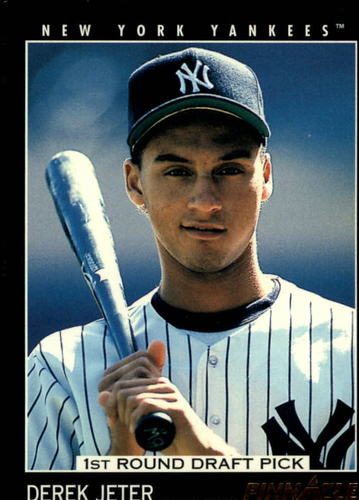 Photo of 1993 Pinnacle #457 Derek Jeter Rookie Card