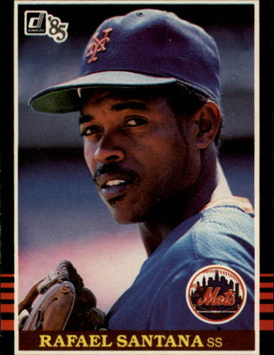 Photo of 1985 Donruss #610 Rafael Santana