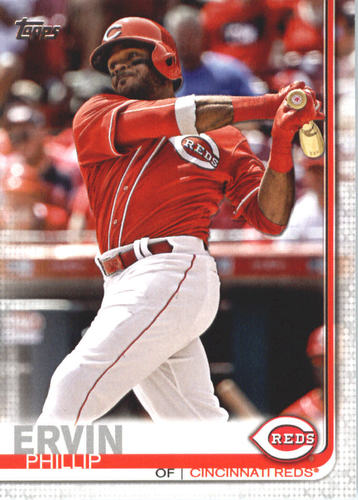 Photo of 2019 Topps #558 Phillip Ervin