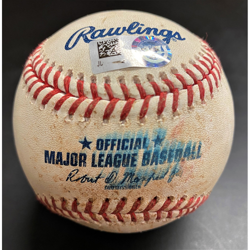 Photo of Game-Used Baseball: Niko Goodrum Detroit Tigers Single (MLB AUTHENTICATED)
