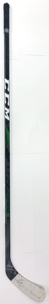 #34 Denis Gurianov Game Used Stick - Autographed - Dallas Stars