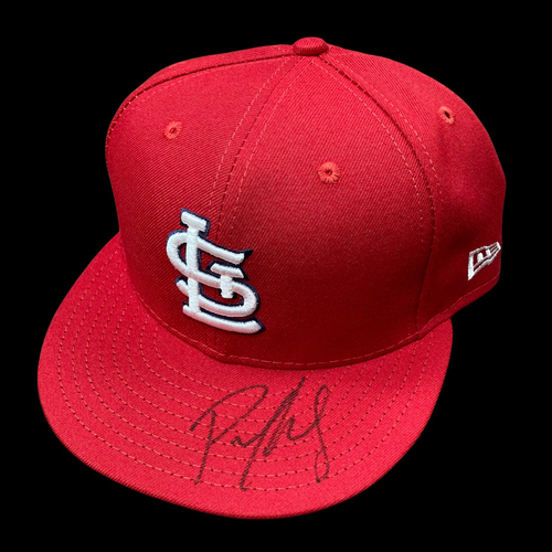 Photo of Paul Goldschmidt  Autographed Team Issued Home Cap (Size 7 3/4)