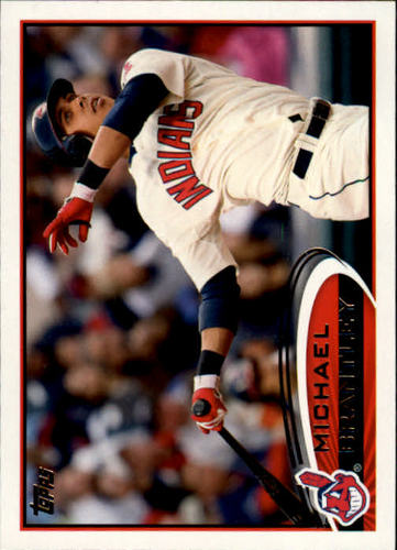 Photo of 2012 Topps #182 Michael Brantley