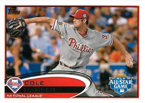 Photo of 2012 Topps Update #US206 Cole Hamels