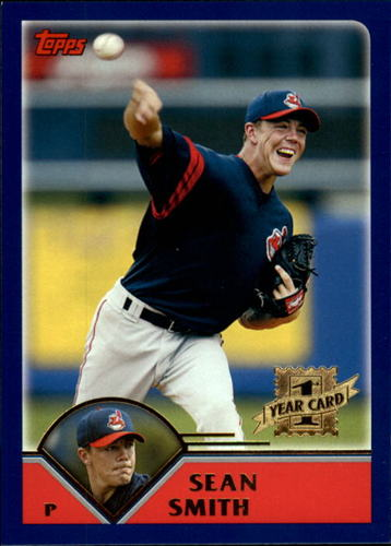 Photo of 2003 Topps Traded #T197 Sean Smith FY RC