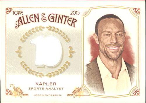 Photo of 2015 Topps Allen and Ginter Relics #FSRBGK Gabe Kapler B