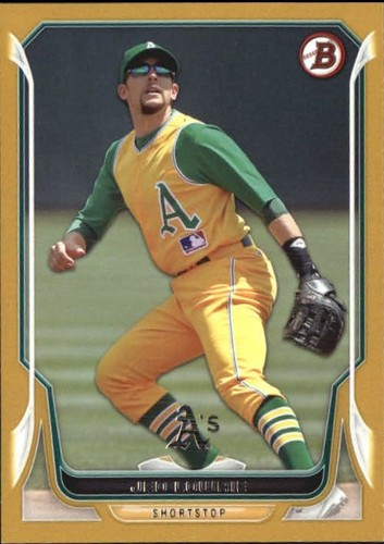 Photo of 2014 Bowman Gold #92 Jed Lowrie