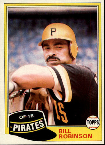 Photo of 1981 Topps #51 Bill Robinson DP