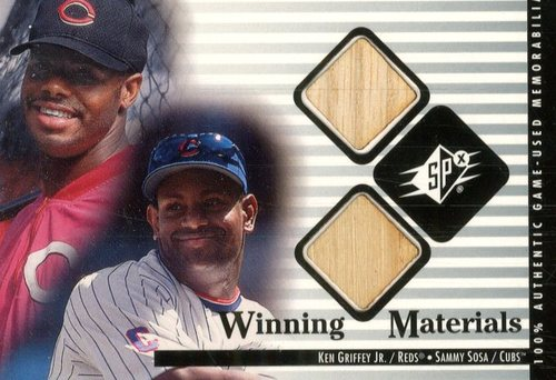 Photo of 2000 SPx Winning Materials Update #KGSS K.Griffey Jr./S.Sosa