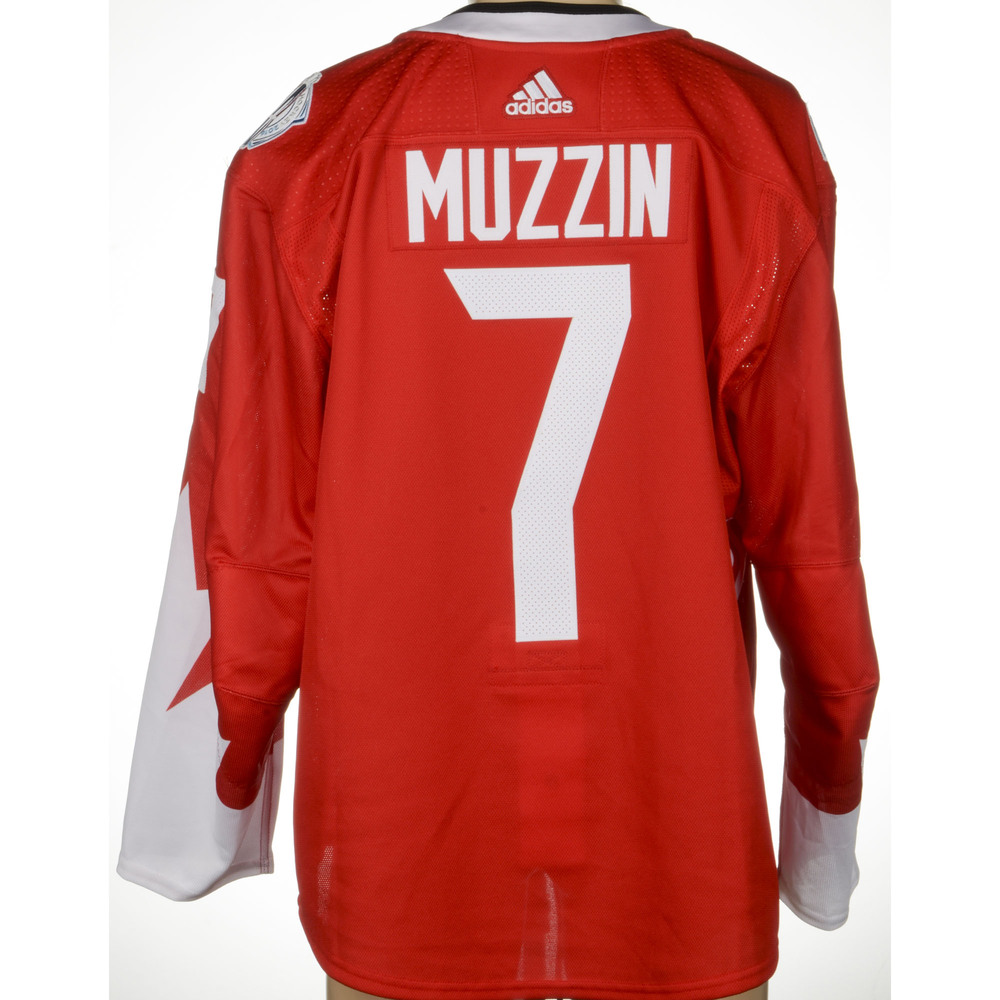 Jake Muzzin Los Angeles Kings Player-Issued 2016 World Cup of Hockey Team Canada Jersey