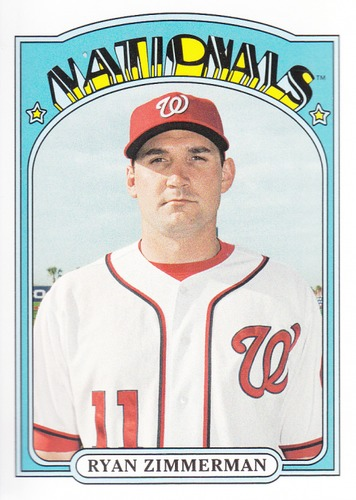 Photo of 2013 Topps Archives #13 Ryan Zimmerman