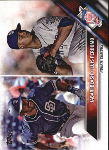 Photo of 2016 Topps Update #US123 Jabari Blash RC/Luis Perdomo
