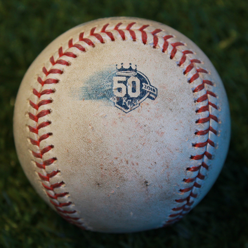 Photo of Game-Used Baseball: Taylor Rogers Pitched Strike Out to Rosell Herrera (MIN @ KC - 9/16/18)