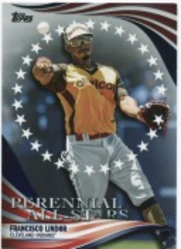 Photo of 2019 Topps Update Perennial All Stars #PAS46 Francisco Lindor