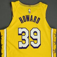 Dwight Howard - Los Angeles Lakers - Christmas Day' 19 - Game-Worn City Edition Jersey